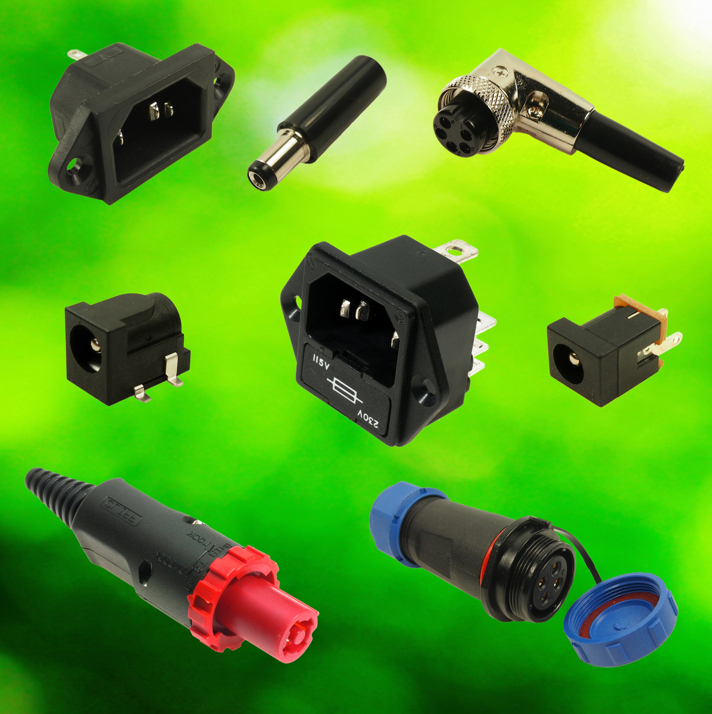 CLIFF Electronic Components Cordsets