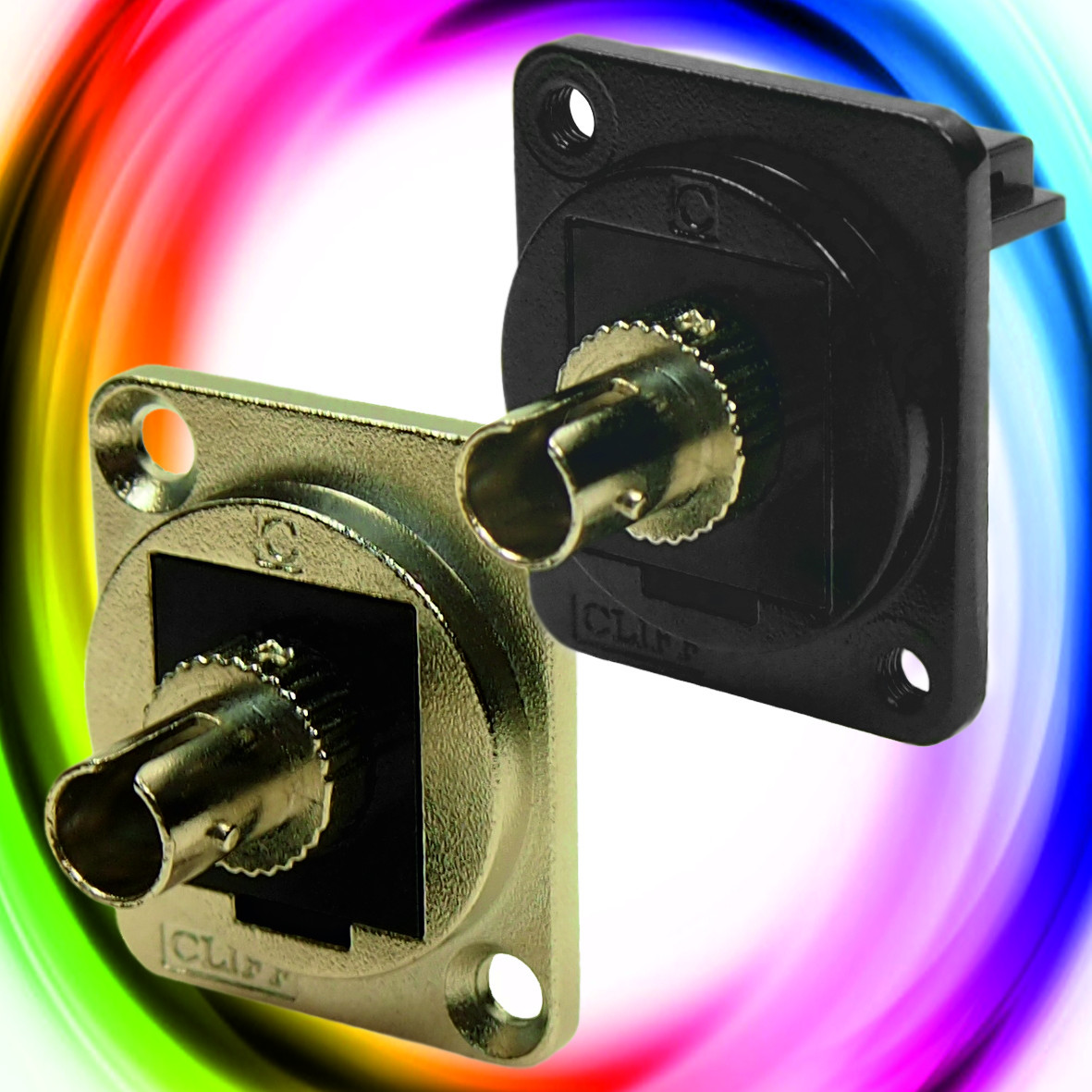 CLIFF Electronic Components - News - ST Fibre Optic Connectors