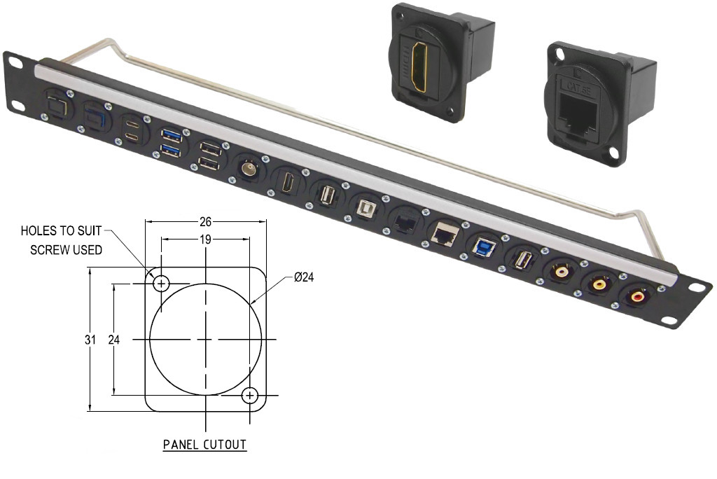 Cliff Electronic Components Plastic Feedthrough Data