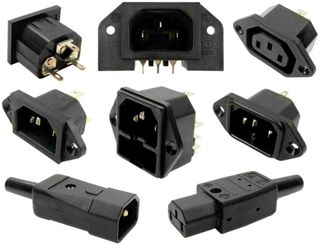 Cliff Electronic Components Mains Power Connectors