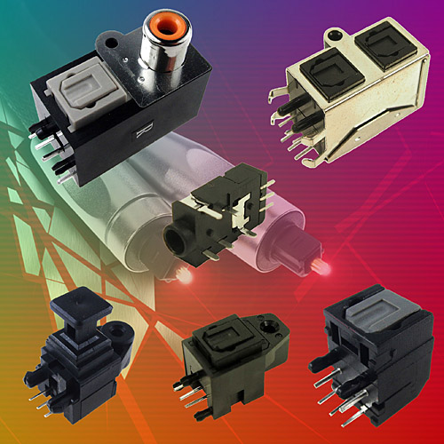optical jack sockets from Cliff Electronics